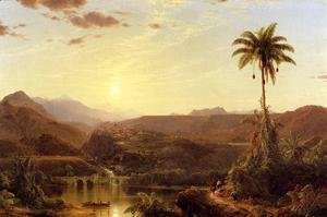 Frederic Edwin Church - The Cordilleras: Sunrise