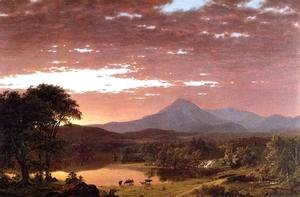 Frederic Edwin Church - Mount Ktaadn (or Mount Katahdin)