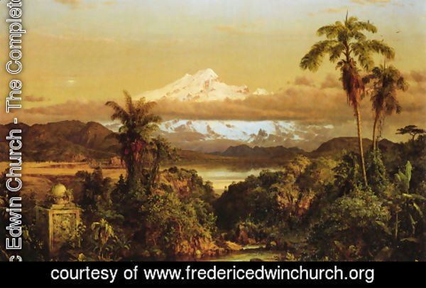 Frederic Edwin Church - Cayambe, 1858