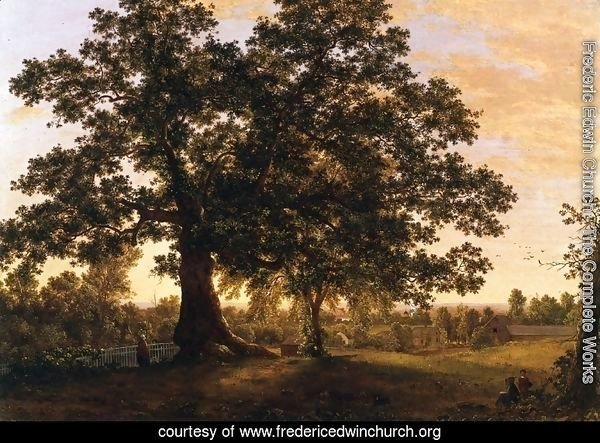 The Charter Oak at Hartford, c.1846