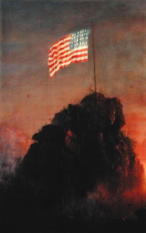 Frederic Edwin Church - Our Flag, 1864