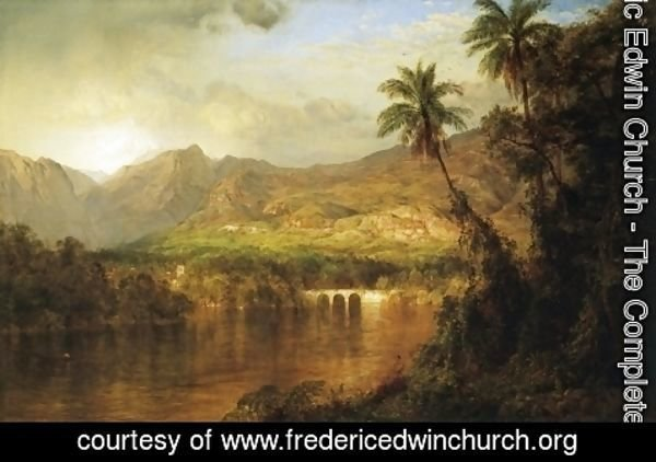 Frederic Edwin Church - South American Landscape, 1873