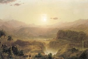 Frederic Edwin Church - The Andes of Ecuador, c.1876