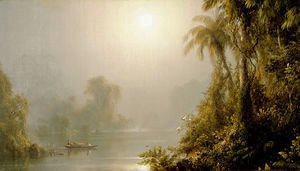 Frederic Edwin Church - Morning in the Tropics, c.1858