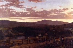 Frederic Edwin Church - Ira Mountain, Vermont