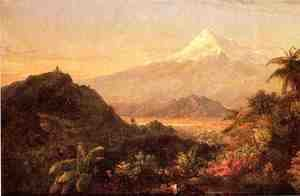 Frederic Edwin Church - South American Landscape I