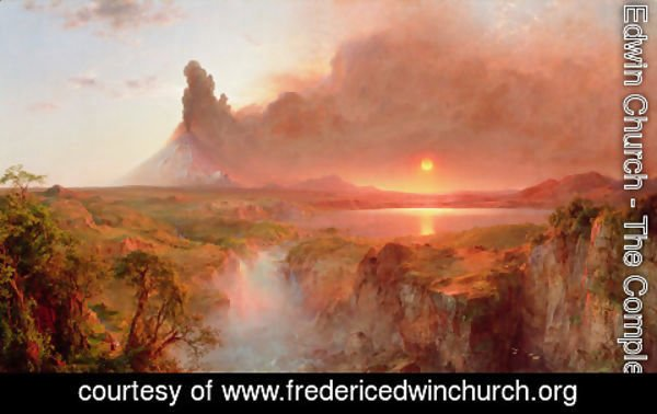 Frederic Edwin Church - Cotopaxi II