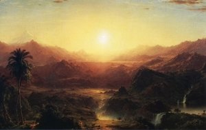Frederic Edwin Church - The Andes of Ecuador I