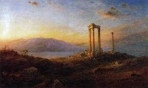 Frederic Edwin Church - Ruins at Baalbek