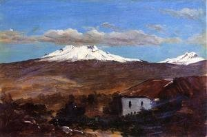 Mount Chimborazo, Ecuador, Shown from Riiobamba