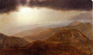 Frederic Edwin Church - Storm in the Mountains I