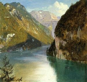 Frederic Edwin Church - Konigsee, Bavaria