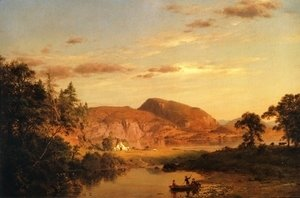 Frederic Edwin Church - Home by the Lake 2