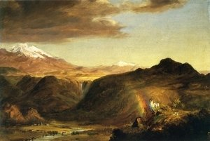Frederic Edwin Church - South American Landscape III