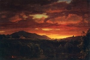 Frederic Edwin Church - Twilight