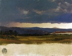 Frederic Edwin Church - Hudson Valley, Near Olana, New York