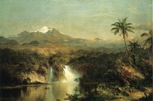 Frederic Edwin Church - View of Cotopaxi