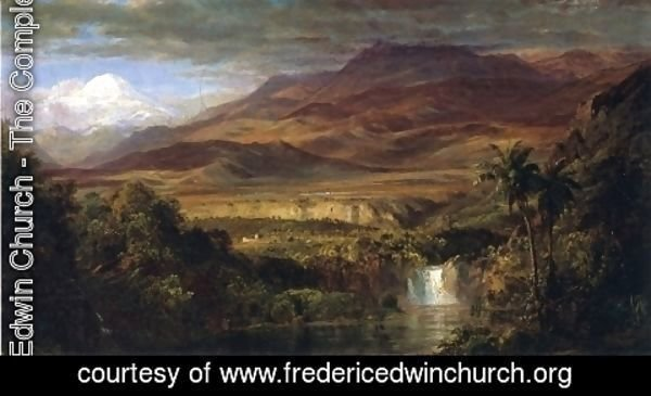 "Frederic Edwin Church - Study for ""The Heart of the Andes"""