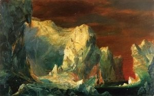"Study for ""The Icebergs"""