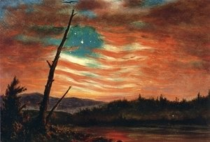 Frederic Edwin Church - Our Banner in the Sky I