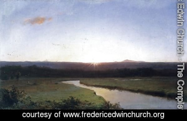 Frederic Edwin Church - Sunrise