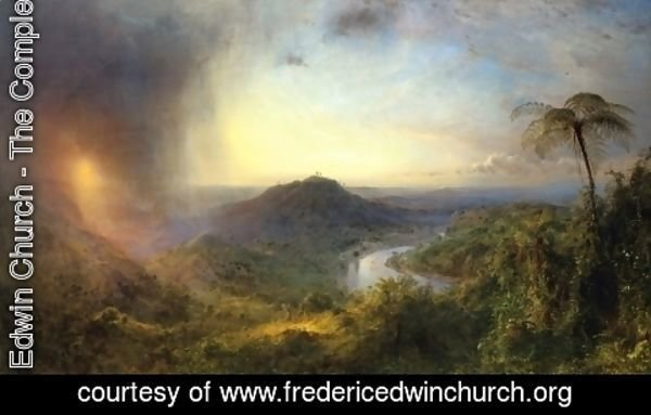 Frederic Edwin Church - The Vale of St. Thomas, Jamaica