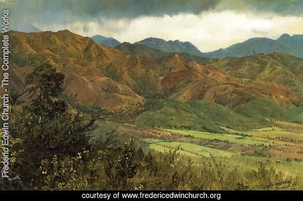 Red Hills near Kingston, Jamaica