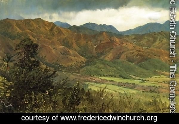 Frederic Edwin Church - Red Hills near Kingston, Jamaica