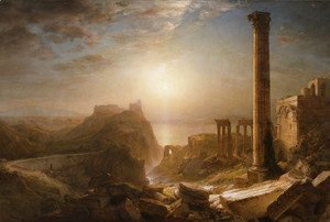 Frederic Edwin Church - Syria by the Sea