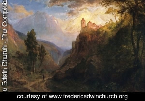 Frederic Edwin Church - The Monastery of San Pedro