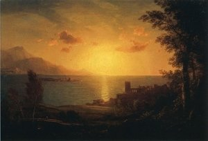 Frederic Edwin Church - The Mediterranean Sea