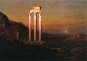 Frederic Edwin Church - Moonrise I