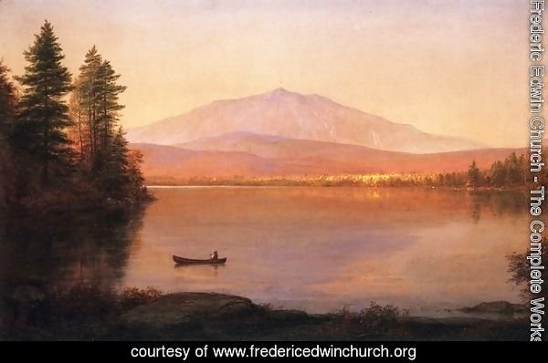 Mount Katahdin from Millinocket Camp