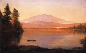 Frederic Edwin Church - Mount Katahdin from Millinocket Camp