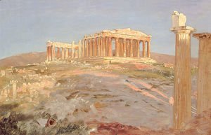 Frederic Edwin Church - The Parthenon 2