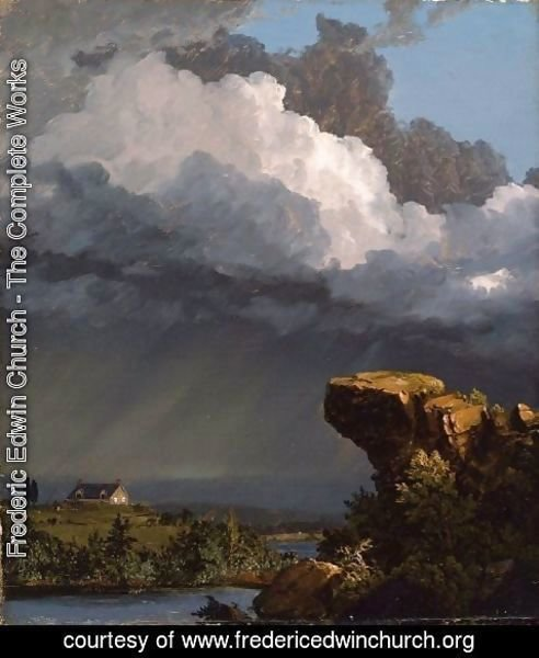 Frederic Edwin Church - A Passing Storm