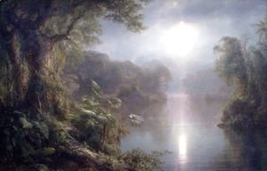 Frederic Edwin Church - The River of Light