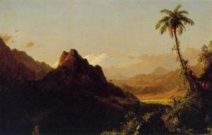 Frederic Edwin Church - In the Tropics