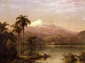 Frederic Edwin Church - Tamaca Palms 2