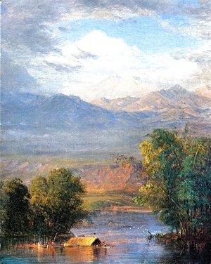 Frederic Edwin Church - The Magdalena River, Equador