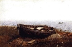 Frederic Edwin Church - The Old Boat