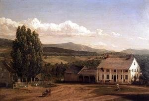 Frederic Edwin Church - View in Pittsford, Vt.