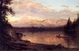 Frederic Edwin Church - View of Mount Katahdin