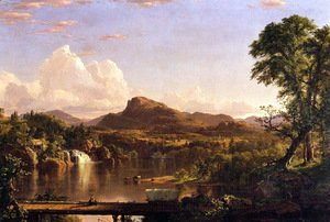 Frederic Edwin Church - New England Scenery