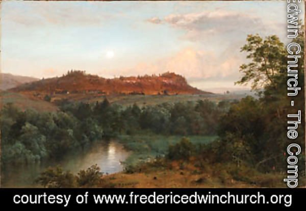 Frederic Edwin Church - Bee Craft Mountain from Church's Farm