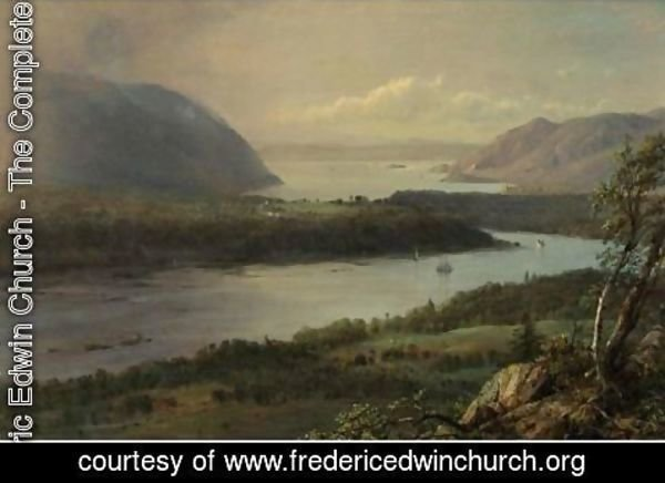 Frederic Edwin Church - The Highlands Of The Hudson River