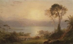 Frederic Edwin Church - Tropical Landscape 2