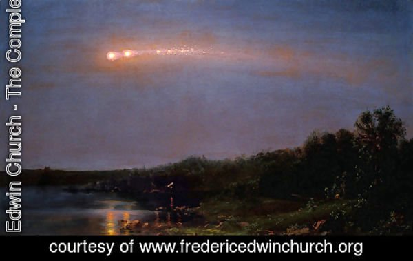 Frederic Edwin Church - The Meteor of 1860