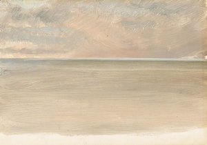Frederic Edwin Church - Seascape with Icecap in the Distance