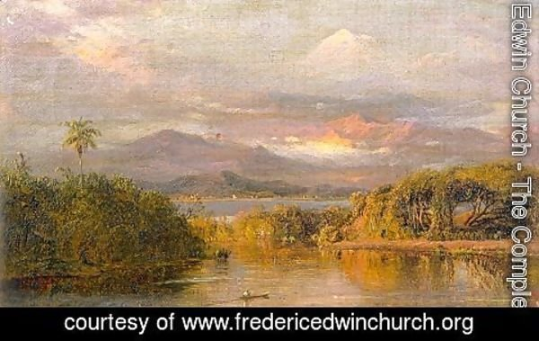 Frederic Edwin Church - Mount Chimborazo